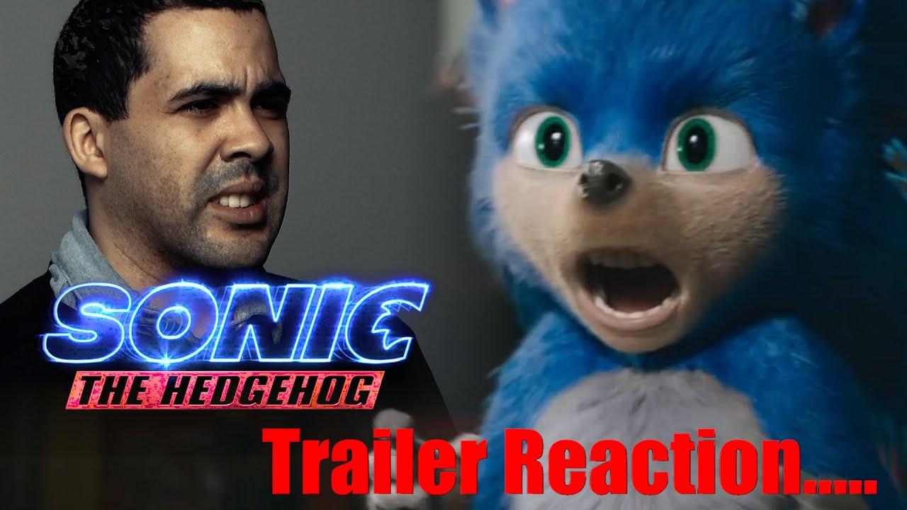 """Sonic"" Trailer Reaction from ""Sonic"" Fan Film Director"
