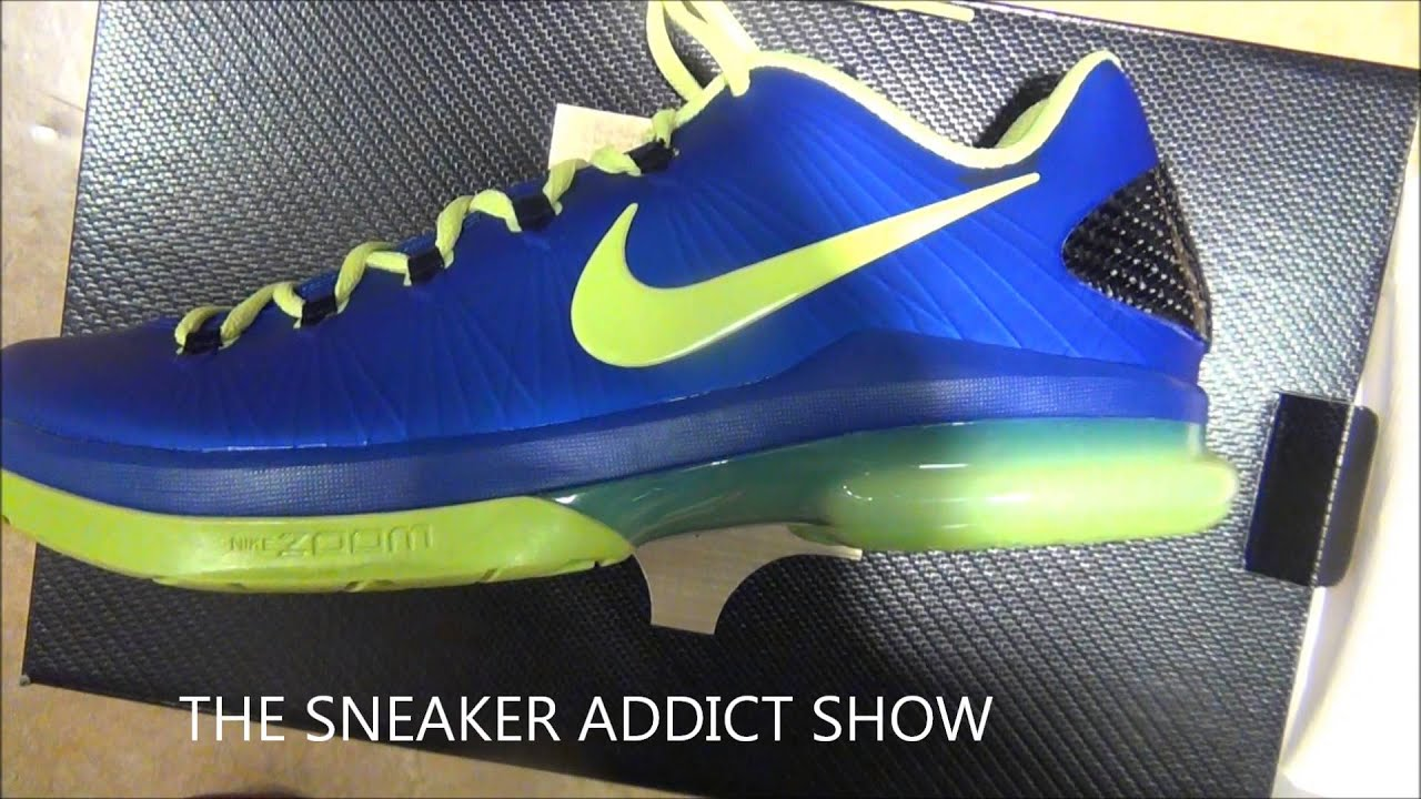 2013 nike kd v elite super hero low 5 sneaker hd review