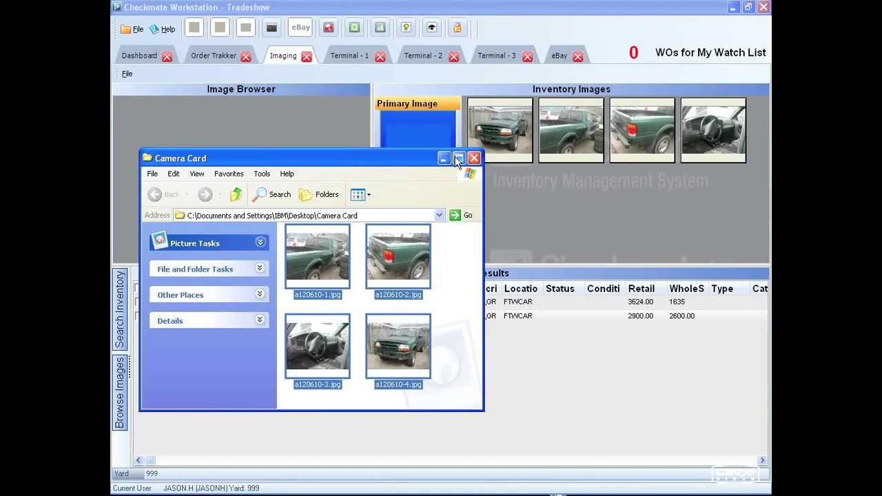 Checkmate Workstation: Auto Recycler Inventory Management Software ...
