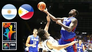 Argentina 🇦🇷 vs Philippines 🇵🇭 - Classic Full Games | FIBA Basketball World Cup 2014