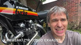 How i made a stainless Steel exhaust for a Kawasaki Z1R Turbo