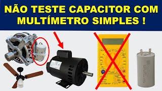 Aprenda a testar capacitores de motores do jeito CERTO!
