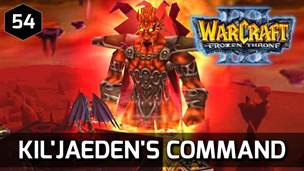 Warcraft 3 Story ► Kil'Jaeden Commands Illidan to Destroy the Frozen Throne