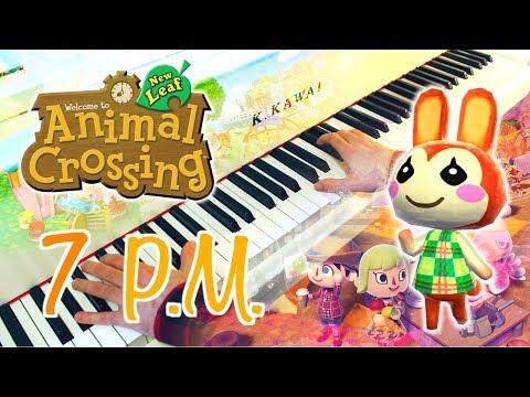 🎵 7PM (Animal Crossing: New Leaf) ~ Piano arrangement w/ Sheet music!