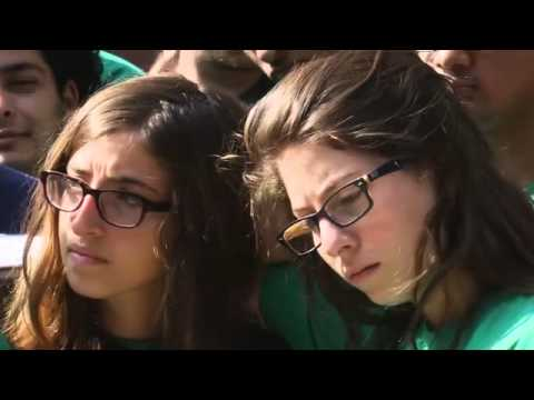 Seeds of Peace campers react to middle east fighting