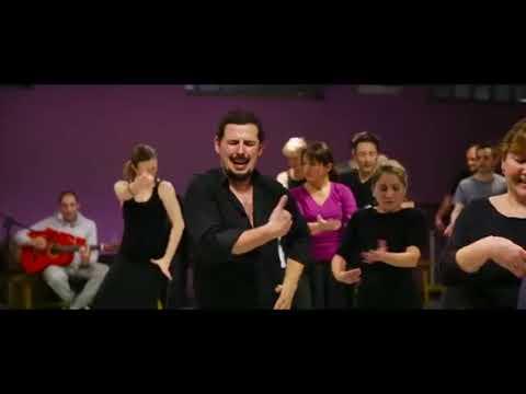 Ramón Martinez en la Academia de flamenco Manuel Betanzos