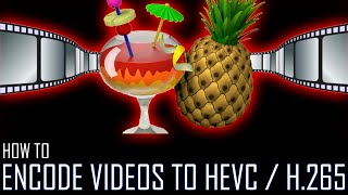How to Encode Videos to HEVC / H.265 With Handbrake?