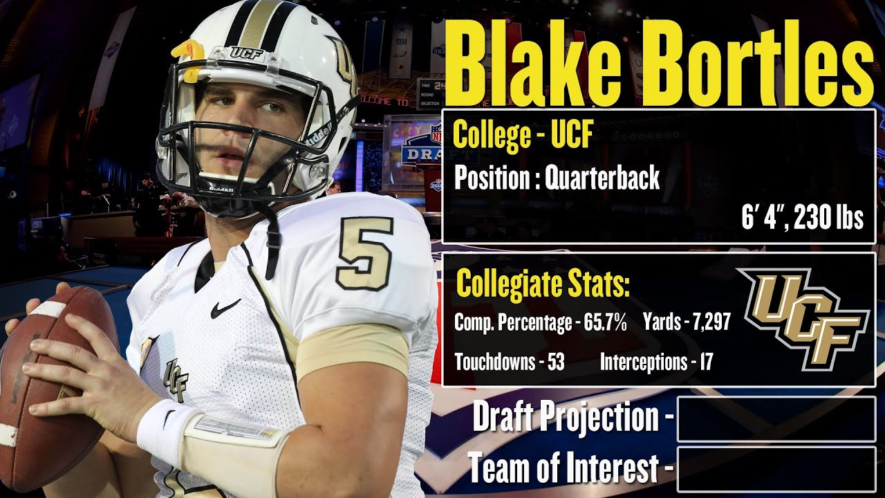 2014 NFL Draft Profile Blake Bortles Strengths And