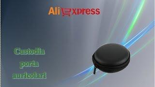 Aliexpress haul unboxing - Custodia porta auricolari (earphone's case)