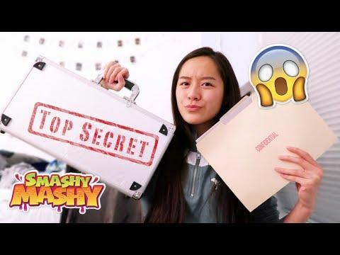A SUPER TOP SECRET SQUISHY PACKAGE | SMASHY MASHY TOYS