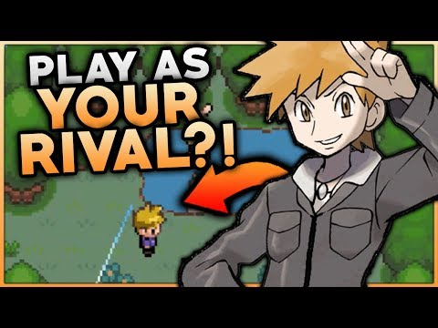 PLAYING AS YOUR RIVAL IN A POKEMON ROM HACK?! Pokemon Adventure Blue Chapter Gameplay