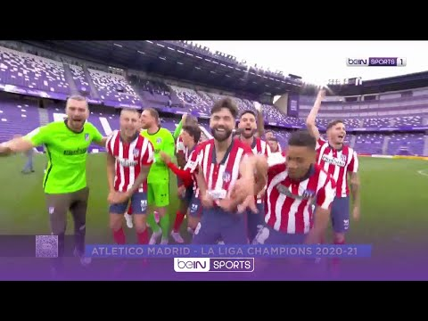 Joyous Atletico celebrate after claiming 11th LaLiga crown 🥳️ | LaLiga 20/21 Moments