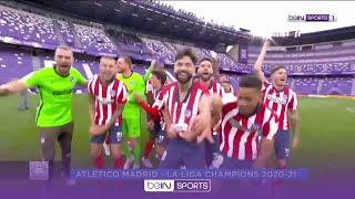 Joyous Atletico celebrate after claiming 11th LaLiga crown 🥳️   LaLiga 20/21 Moments