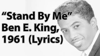 Stand By Me Ben E. King 1961 Lyrics.mp3
