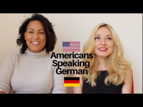 AMERICANS SPEAKING GERMAN