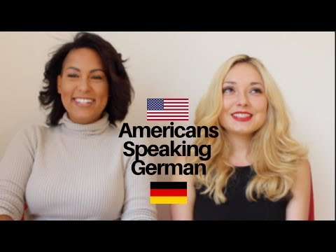 AMERICANS SPEAKING GERMAN