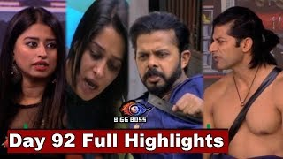 Bigg Boss 12 : Watch Day 92 Full Highlights | BB 12 | Bigg Boss Season 12