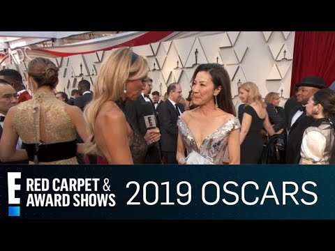 Michelle Yeoh Addresses Gender Diversity at 2019 Oscars | E! Red Carpet & Award Shows