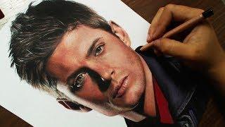 Desenhando o Dean Winchester (Supernatural) Jensen Ackles