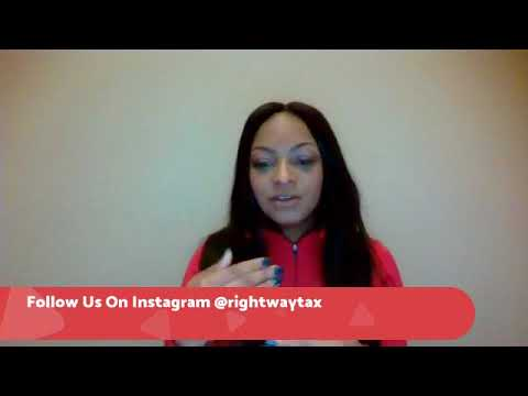Tax Tip Tuesday with Right Way Tax and Financial Services LLC:1-16 - 2018