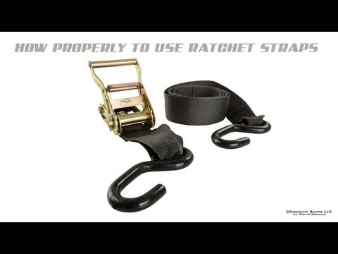 How To Use Ratchet Straps Like A Pro