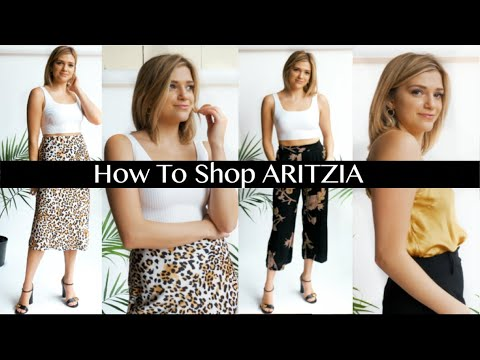 HOW TO SHOP AT ARITZIA | Must Haves & Regrets, 2019 Try On Haul