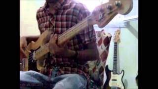 Eric Clapton - Layla (acoustic) bass made by M!X4