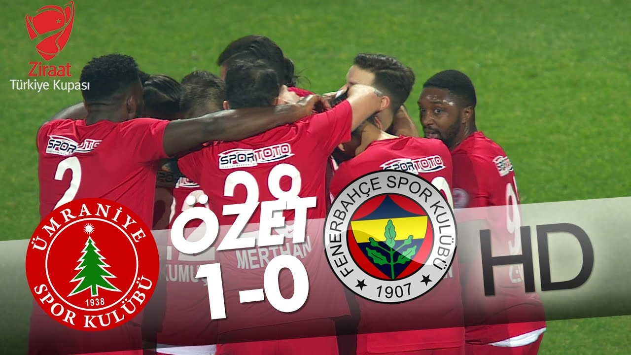 Ümraniyespor - Fenerbahçe Maç Özeti