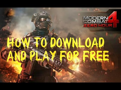 How To Download Paid App Mc4(modern Combat 4) And Play Its Multiplayer For Free