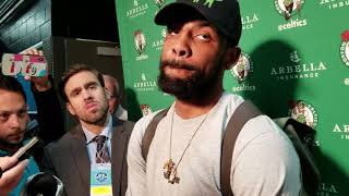 """Kyrie Irving: """"we took our foot off the gas pedal"""""""