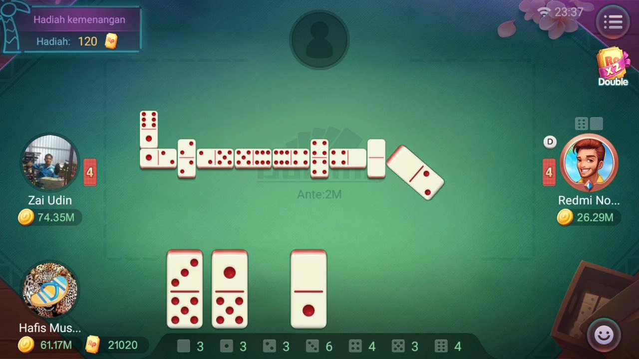 Cara menang game domino gaple! - YouTube