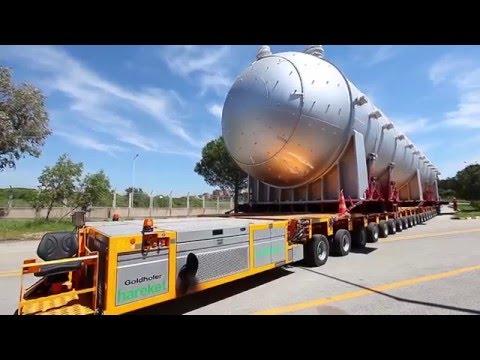 Heavy Transport And Installation-Turkey 2010