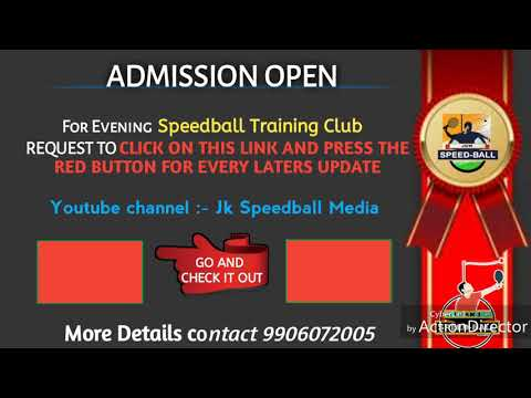 ADMISSION OPEN For Evening Speedball Club