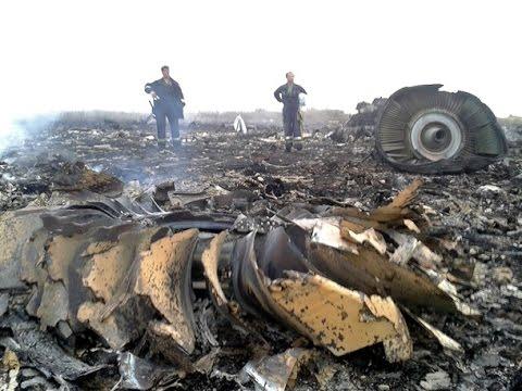 Падение пассажирского авиалайнера в Донецкой области: фото