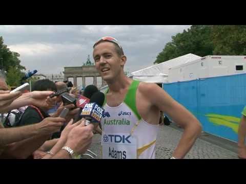 Luke Adams 50km Interview