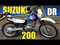 Suzuki DR200 Test Ride