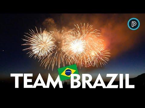 Celebration of Lights 2015 - Vancouver - TEAM BRAZIL