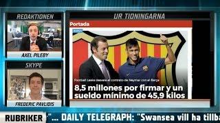 Fotbollskanalen Headlines: Så ser Neymars kontrakt ut - TV4 Sport