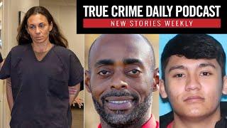 Ex-cop admits hiring hitman to kill ex-husband; Teacher killed in shootout with drug cartel - TCDPOD