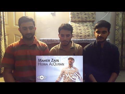 Maher Zain - Huwa AlQuran   Reaction   React Bros