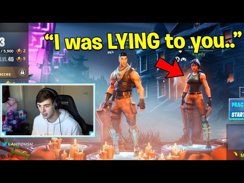 This kid admits he was LYING to Scam me.. (Fortnite Interview)