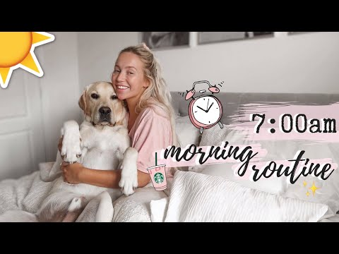MY MORNING ROUTINE | Summer 2019 | Elle Darby | AD