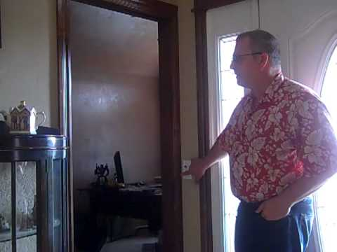 Air Operated Bedroom Pocket Door & Air Operated Bedroom Pocket Door - YouTube