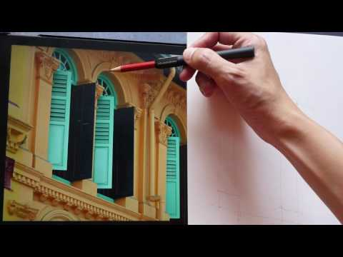 How I Draw Windows From Observation (tutorial)