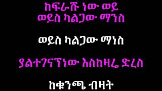 Abebe And Bitsat - Enegenagnalen እንገናኛለን (Amharic With Lyrics)