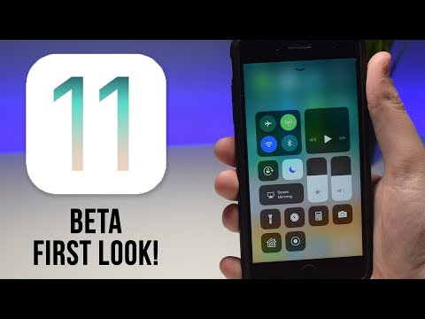 iOS 11 First Look!