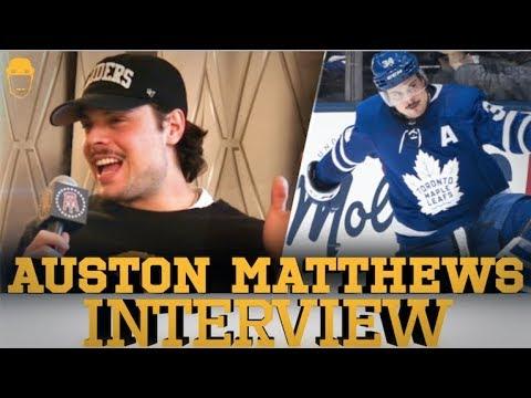 Spittin' Chiclets Interviews Auston Matthews - Full Intervie