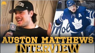 Spittin' Chiclets Interviews Auston Matthews   Full Interview