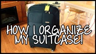 How I Organize my Suitcase! Thumbnail