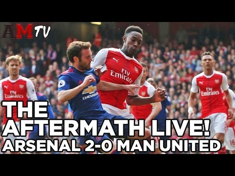 Dead To Me! | The Aftermath: Live! | Arsenal 2-0 Manchester United